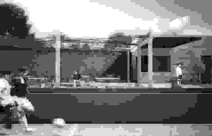 DEPORTIVO TEPEPAN Estadios de estilo industrial de gOO Arquitectos Industrial