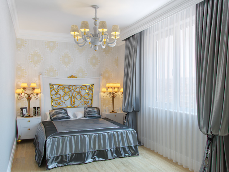 Classic style bedroom by Студия дизайна интерьера Маши Марченко Classic