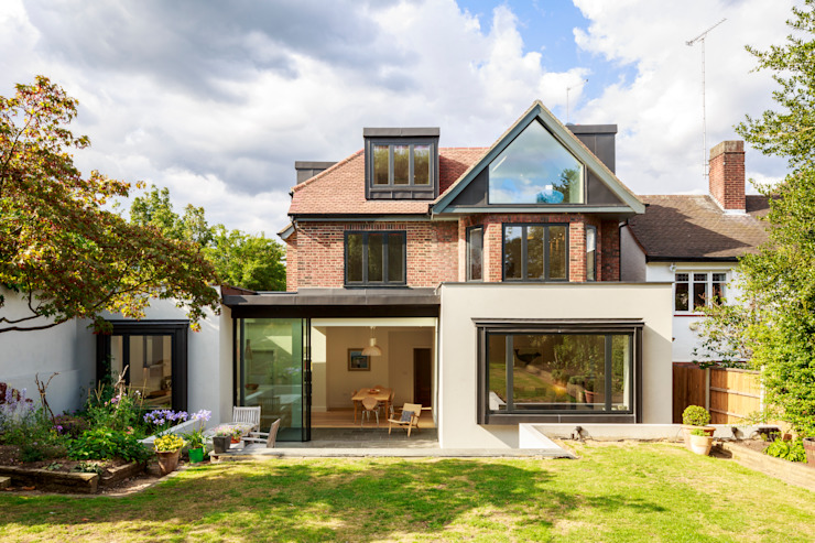 Muswell Hill House 1, London N10 Casas modernas de Jones Associates Architects Moderno