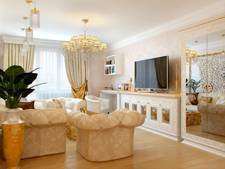 Classic style bathroom by Студия дизайна интерьера Маши Марченко Classic