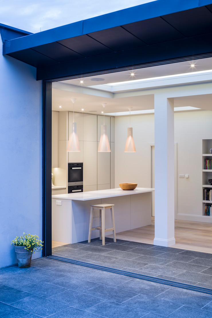 Muswell Hill House 1, London N10 Jones Associates Architects 現代廚房設計點子、靈感&圖片