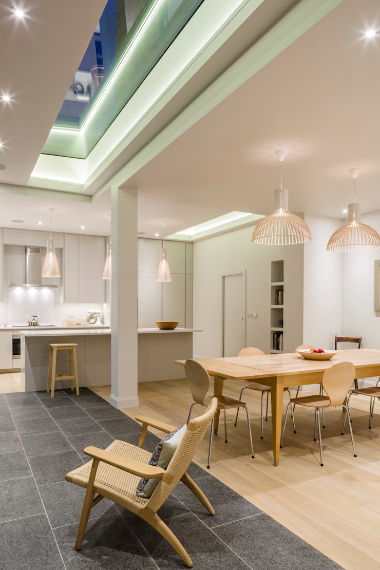 Muswell Hill House 1, London N10 Jones Associates Architects 餐廳