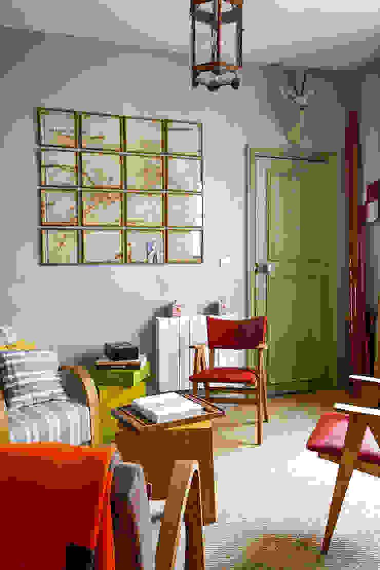 Jean-Bastien Lagrange + Interior Design Living room