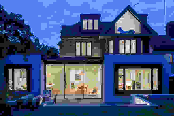 Muswell Hill House 1, London N10 Jones Associates Architects 現代房屋設計點子、靈感 & 圖片