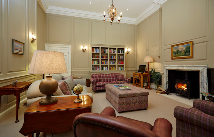 Georgian Country House Classic style living room by Etons of Bath Classic
