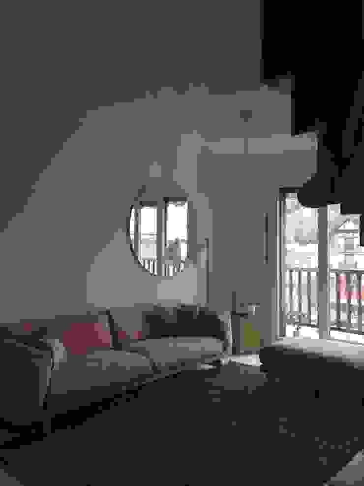 vivienda en Durango ( Vizcaya ) Salones de estilo escandinavo de cuandodavidllegoadurango Escandinavo