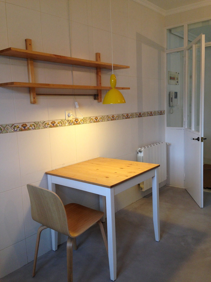 vivienda en Durango ( Vizcaya ) Cocinas de estilo escandinavo de cuandodavidllegoadurango Escandinavo
