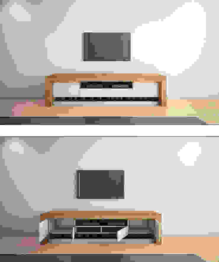 MUEBLE PARA TV de gOO Arquitectos Moderno