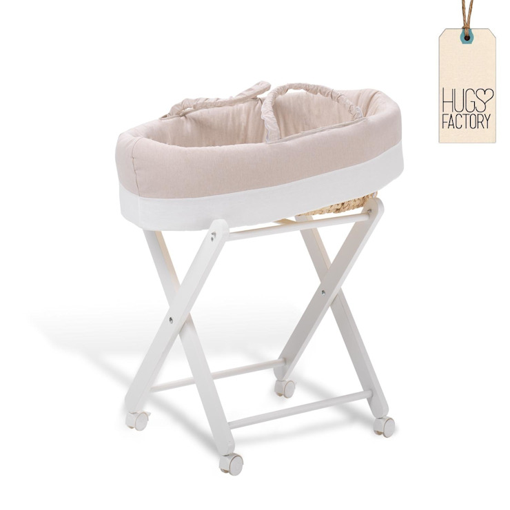 Modern moses baby basket Hudson by Hugs Factory: modern  by My Italian Living, Modern