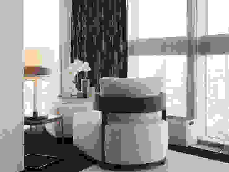 Penthouse apartment, Vauxhall Kamar Tidur Modern Oleh Keir Townsend Ltd. Modern