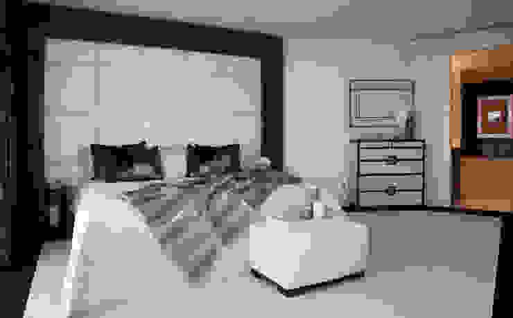 Penthouse apartment, Vauxhall Moderne Schlafzimmer von Keir Townsend Ltd. Modern
