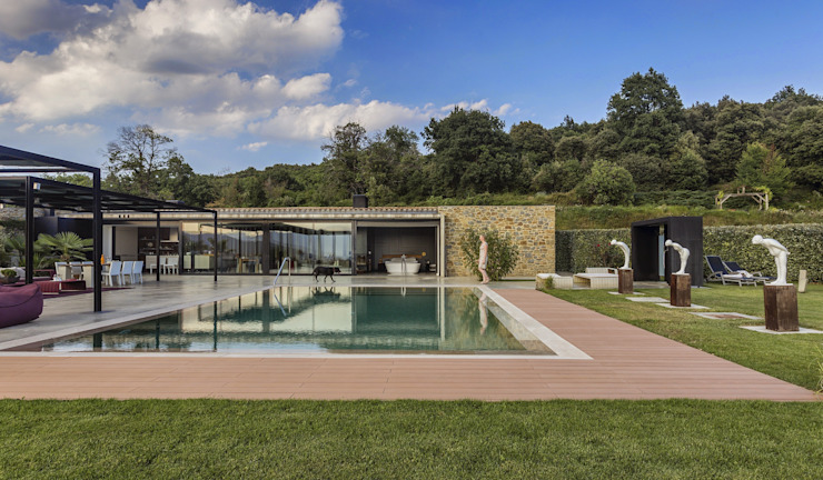Country house by VelezCarrascoArquitecto VCArq,