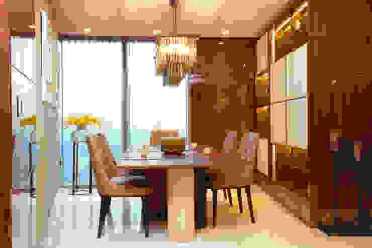 Penthouse apartment, Vauxhall Ruang Makan Modern Oleh Keir Townsend Ltd. Modern