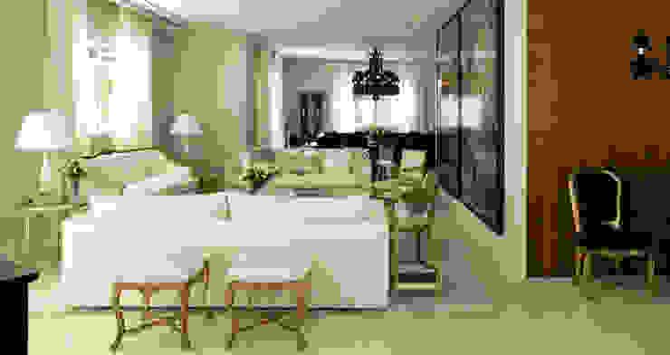 Living room by Rafael Zalc Arquitetura e Interiores, Classic