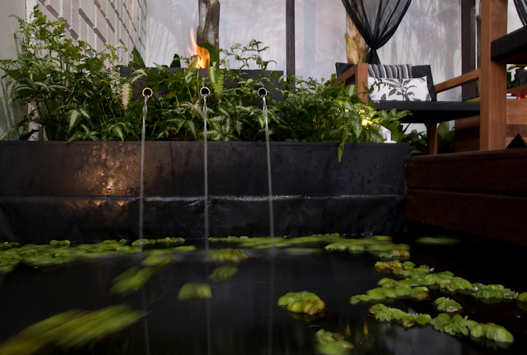 Jardines de estilo moderno de Folha Paisagismo Moderno