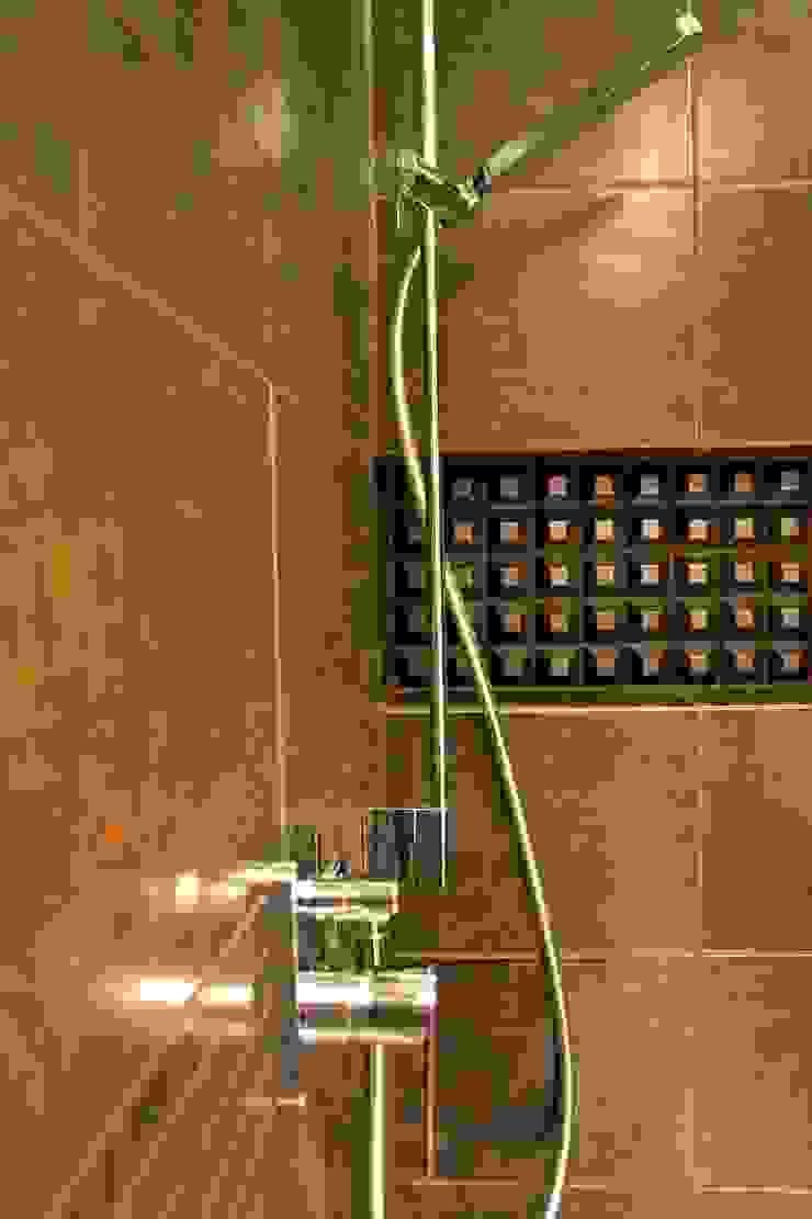 wielka płyta Płock – kuchnia i łazienka Nowoczesna łazienka od abostudio Nowoczesny