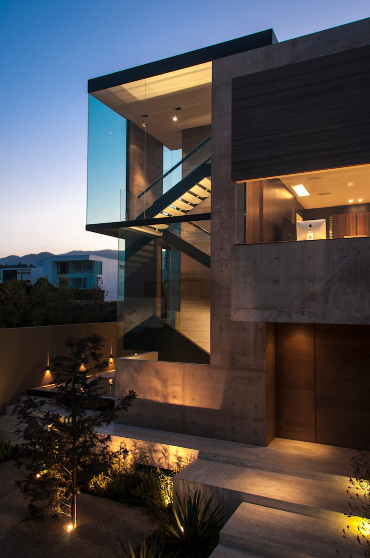 ML Residence Modern houses by Gantous Arquitectos Modern