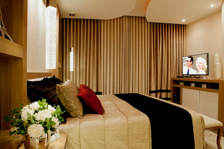 Casa Parque Quartos modernos por Designer de Interiores e Paisagista Iara Kílaris Moderno