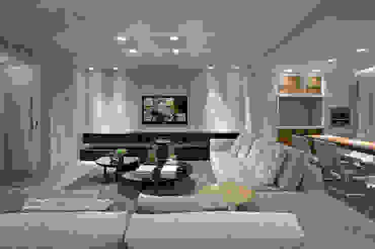 Sala de estar Fernanda Sperb Arquitetura e interiores Salas de estar modernas