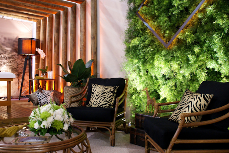 Rustic style spa by Folha Paisagismo Rustic