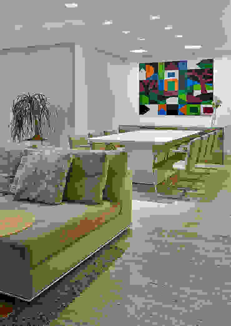 Sala de jantar Fernanda Sperb Arquitetura e interiores Salas de jantar modernas