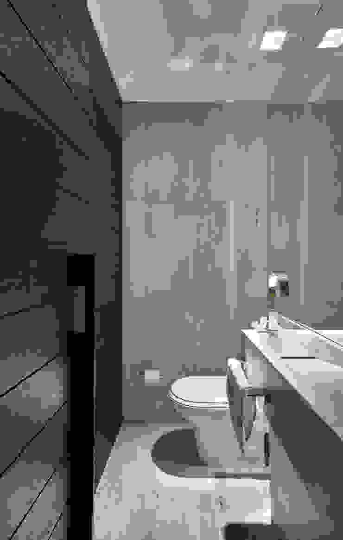 Lavabo Fernanda Sperb Arquitetura e interiores Banheiros modernos