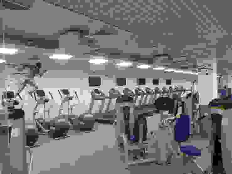 Оформление фитнес-центра <q>Воламир</q> Стадионы в эклектичном стиле от 33dodo Эклектичный