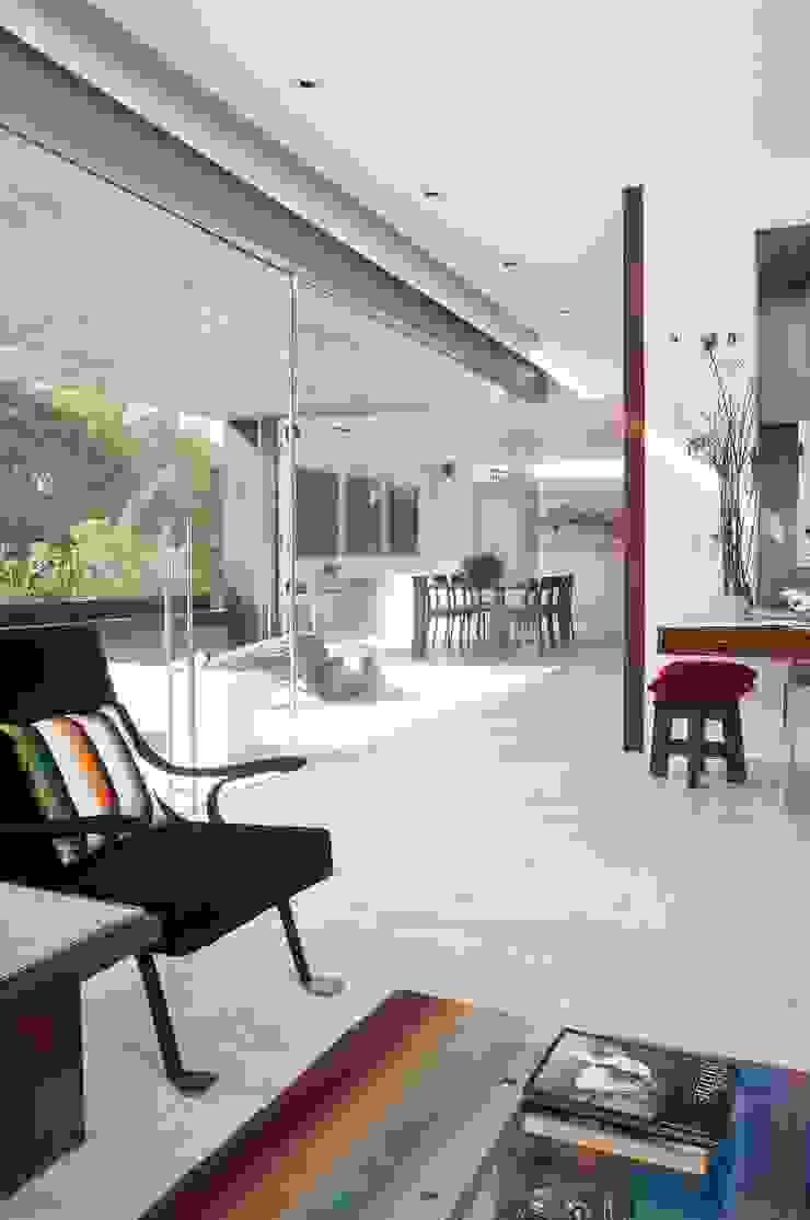 Polanco Penthouse Gantous Arquitectos Pasillos, vestíbulos y escaleras de estilo moderno
