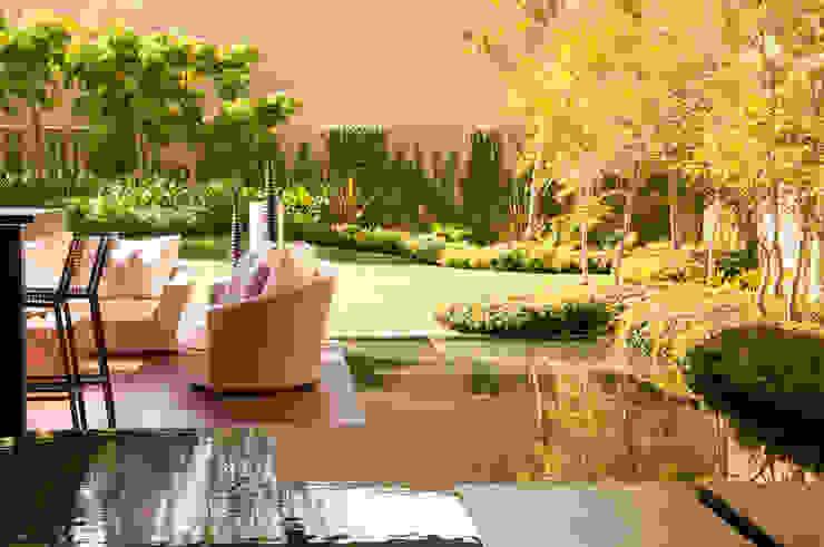 Casa SJ: Terrazas de estilo  por Gantous Arquitectos, Moderno