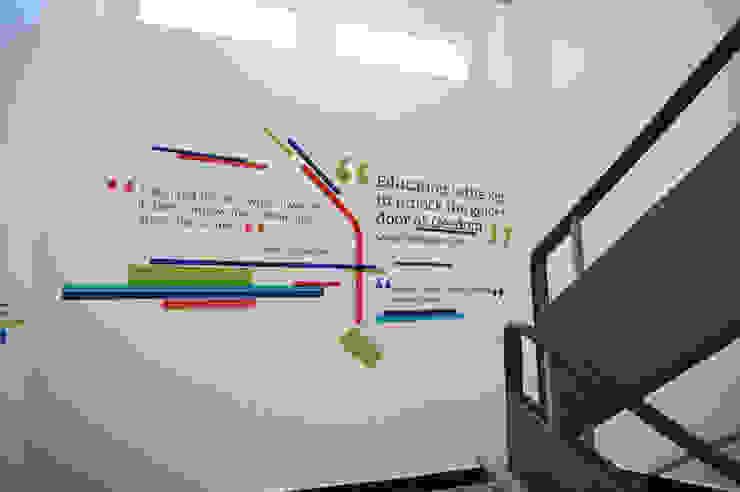 Оформление Европейской гимназии Школы в эклектичном стиле от 33dodo Эклектичный