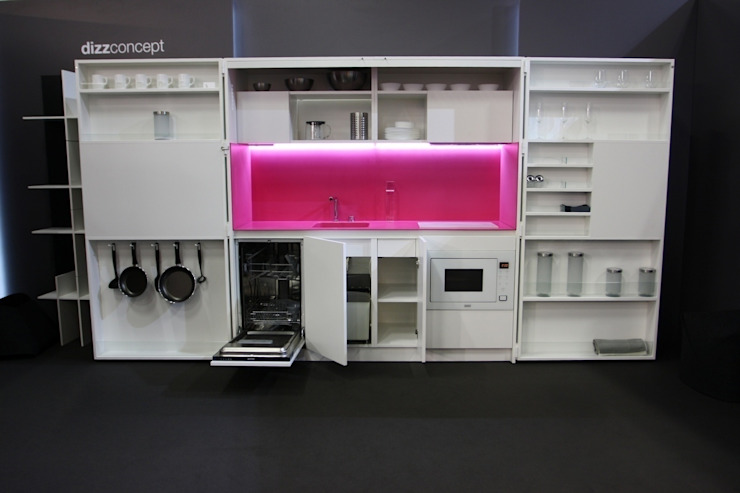 Pop-up kitchen PIA - Web (KL458SIAAZ) van Dizzconcept Modern