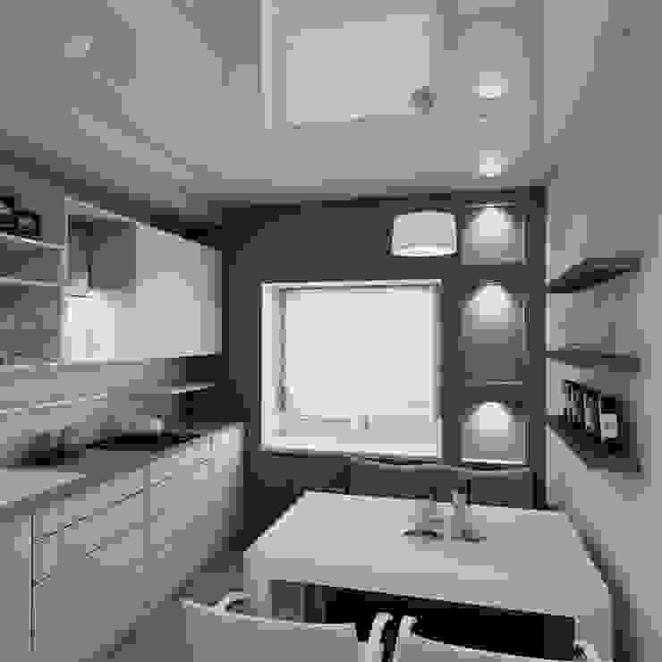 Лунный свет Кухня в стиле минимализм от Art Group 'Tanni' Минимализм