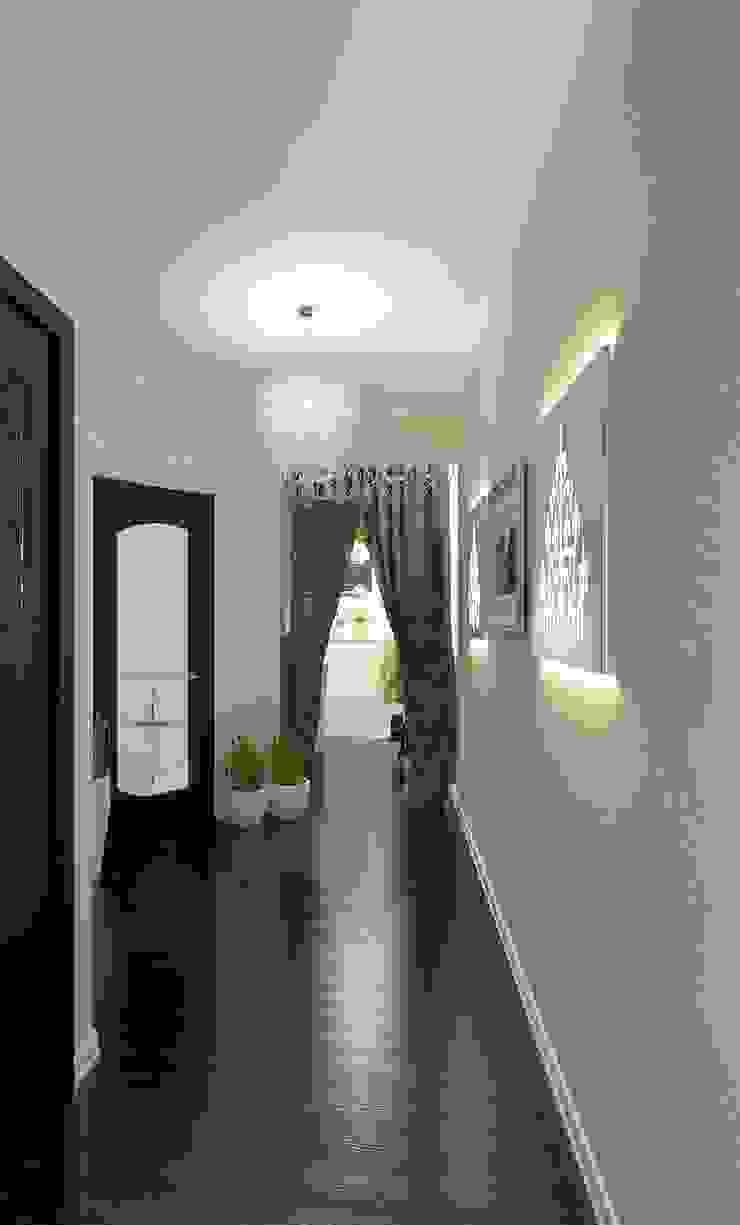 Частный дом Коридор, прихожая и лестница в модерн стиле от Art Group 'Tanni' Модерн