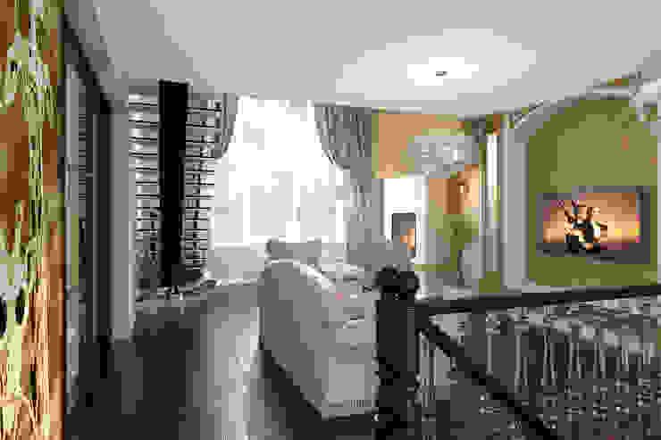 Частный дом Гостиная в стиле модерн от Art Group 'Tanni' Модерн