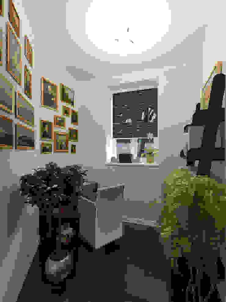 Частный дом Рабочий кабинет в стиле модерн от Art Group 'Tanni' Модерн