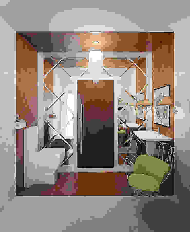 Душевая с сауной Ванная комната в стиле модерн от Art Group 'Tanni' Модерн