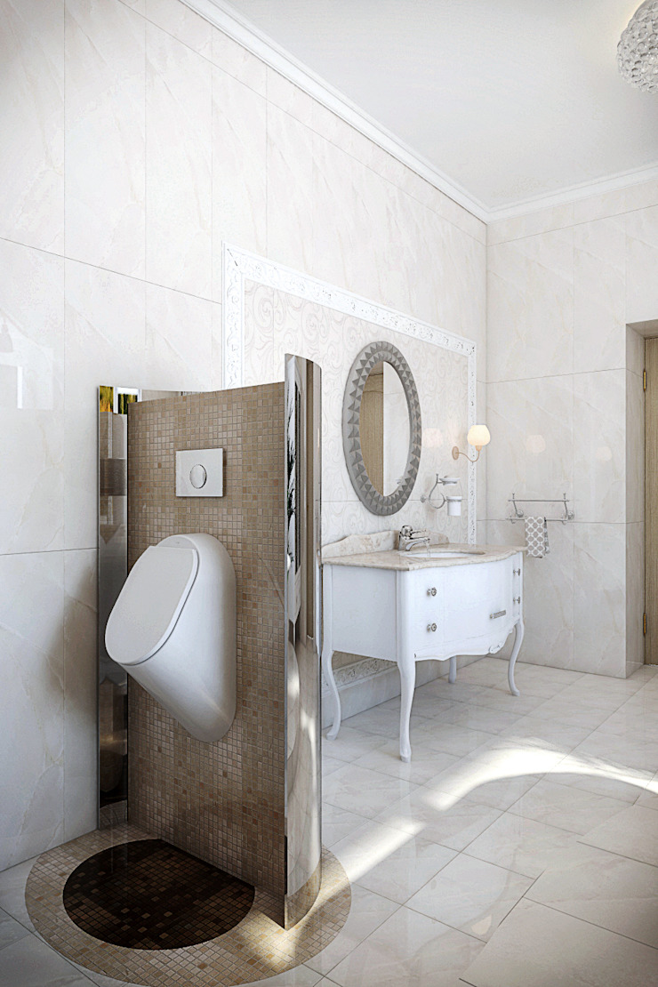 Частный дом Ванная в классическом стиле от Art Group 'Tanni' Классический