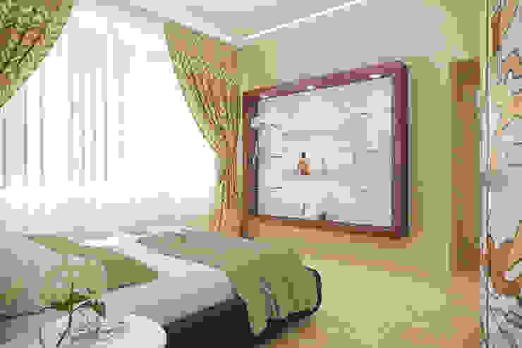 Частный дом Спальня в стиле лофт от Art Group 'Tanni' Лофт