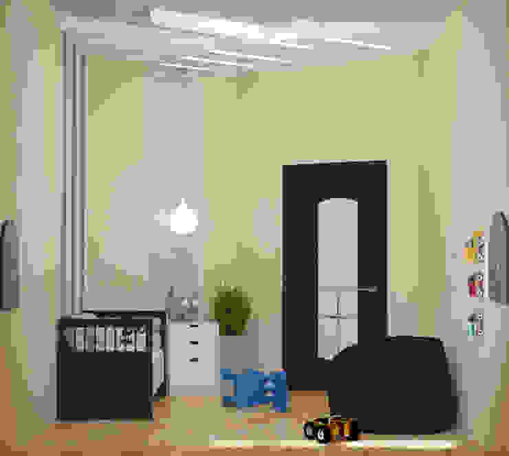 Гостевая детская комната Детская комната в стиле модерн от Art Group 'Tanni' Модерн