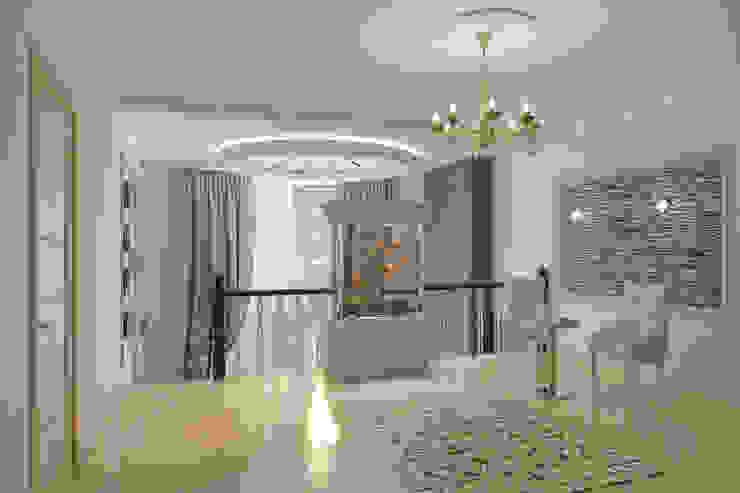 Частный дом Коридор, прихожая и лестница в классическом стиле от Art Group 'Tanni' Классический