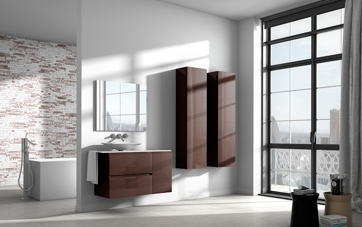 Serie Impression Mod. 5 Baños de estilo moderno de BATH Moderno