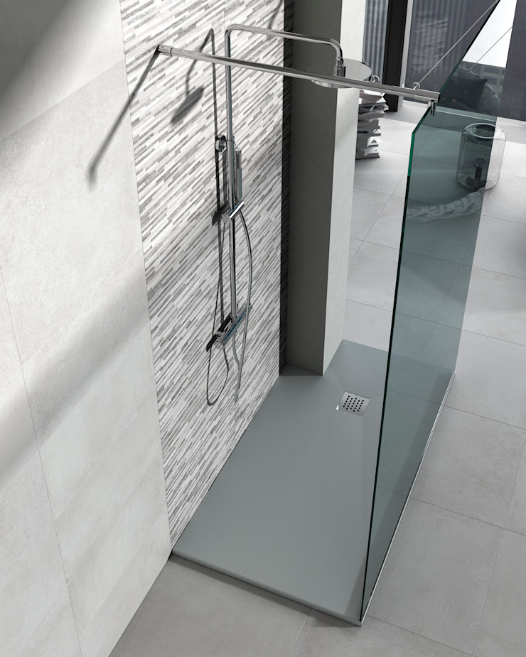 Serie Colors Granito Baños de estilo moderno de BATH Moderno