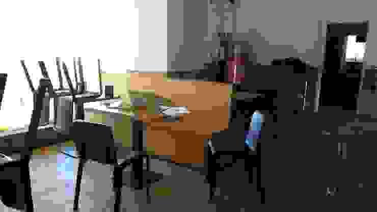 Comedor, reutilización de mobiliario. Bares y clubs de estilo industrial de Casas a Punto home staging Industrial