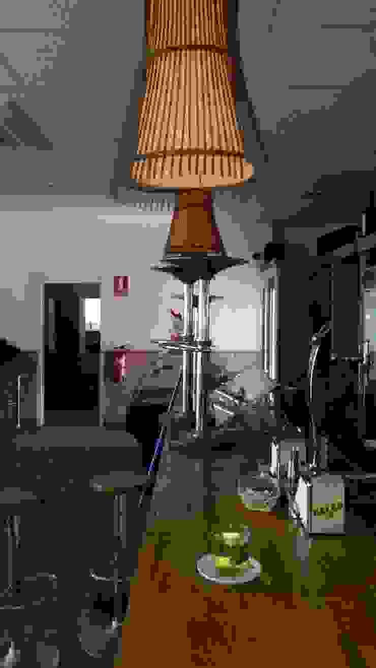 Barra antes Bares y clubs de estilo industrial de Casas a Punto home staging Industrial