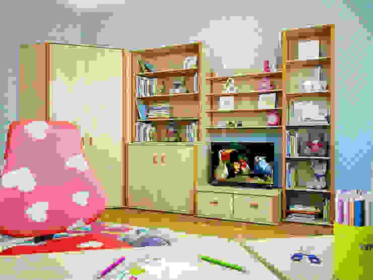 غرفة الاطفال تنفيذ Студия дизайна интерьера Маши Марченко, إنتقائي