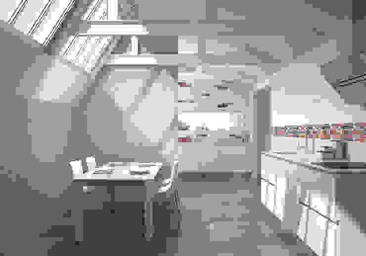 Serie Forever Cocinas de estilo moderno de Azulev Moderno