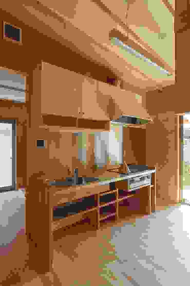 吉永の家 オリジナルデザインの キッチン の 岸本泰三建築設計室 オリジナル