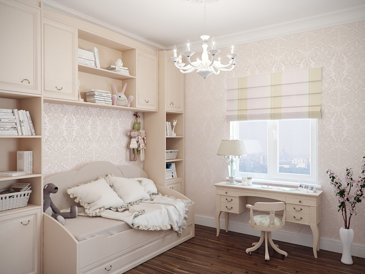 Nursery/kid's room by Студия дизайна интерьера Маши Марченко, Eclectic