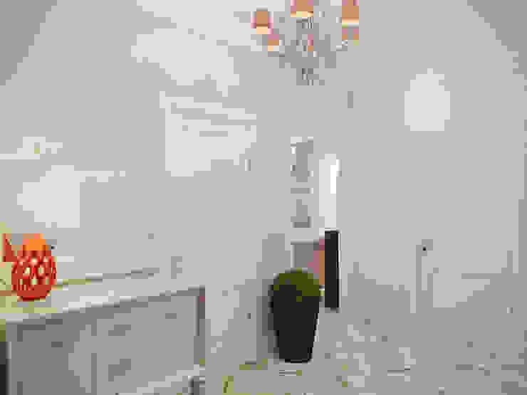 隨意取材風玄關、階梯與走廊 根據 Студия дизайна интерьера Маши Марченко 隨意取材風