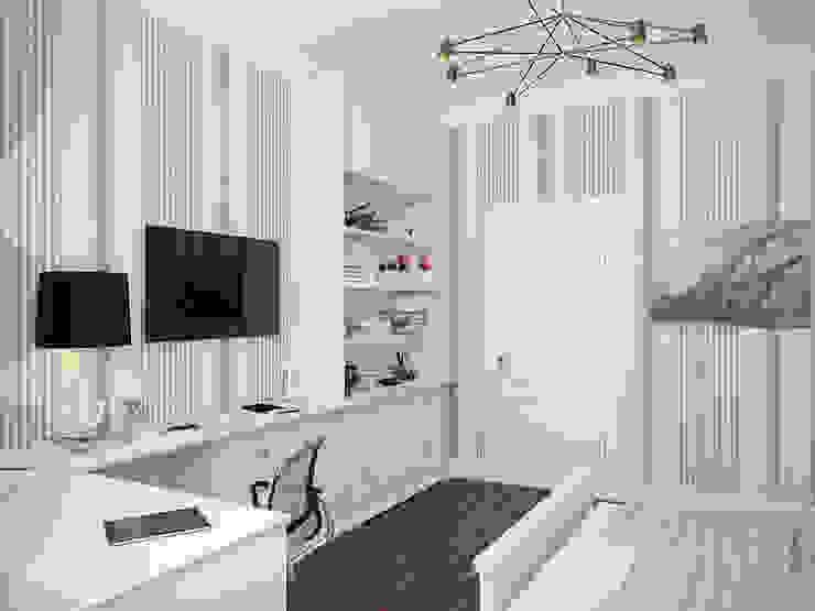 Квартира в ЖК <q>Морской Фасад</q> Детские комната в эклектичном стиле от Студия дизайна интерьера Маши Марченко Эклектичный